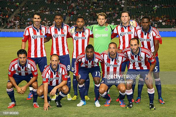 e9b68354e The Starting XI of Chivas USA pose for a group photo prior to their MLS  match