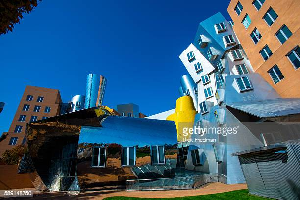 The Stata Center at Massachusetts Institute of Technology in Cambridge MA on October 212013