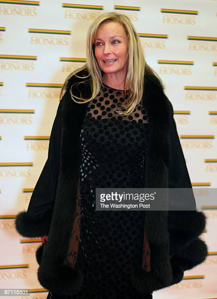 The State Department C Street NW Actress Bo Derek arrives at the State Department for the 2005 Kennedy Center dinner honoring Tina Turner Robert...