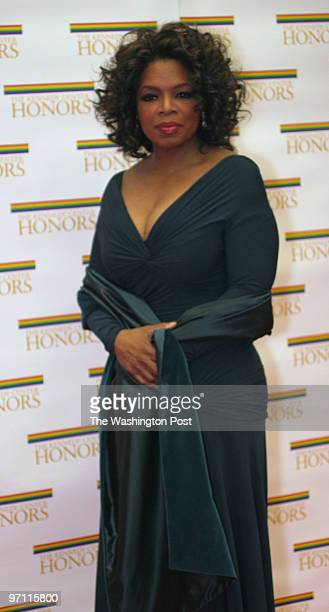 The State Department C Street NW Oprah Winfrey arrives at the State Department for the 2005 Kennedy Center dinner honoring Tina Turner Robert Redford...