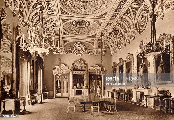 The State Dining Room Buckingham Palace 1935 From King Emperor's Jubilee by F G H Salusbury