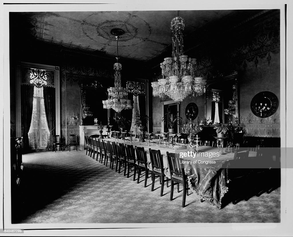 State dining room in the white house pictures getty images the state dining room in the white house washington d c 1890 dzzzfo