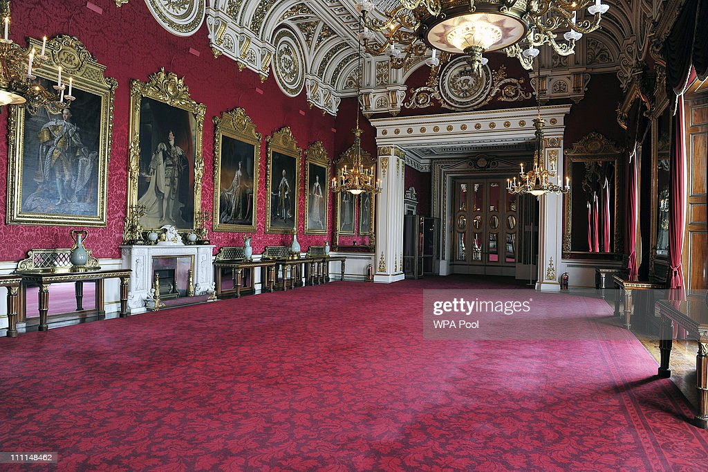 The State Dining Room Which Will Be Used During The Wedding Reception Of  Prince William And
