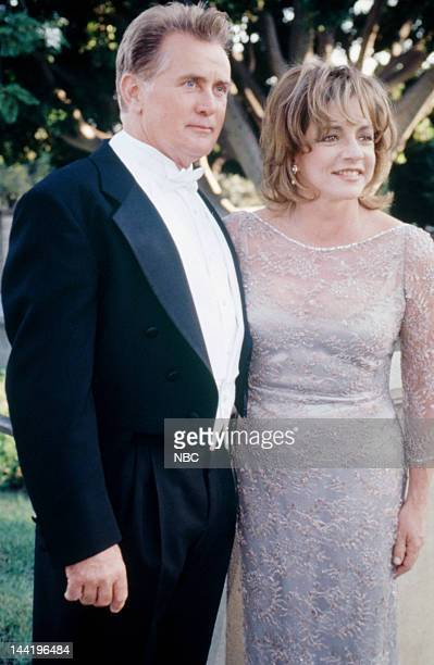 HOUSE 'The State Dinner' Episode 7 Pictured Martin Sheen as President Josiah 'Jed' Bartlet Stockard Channing as Abbey Bartlett