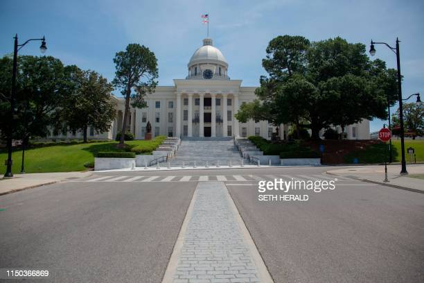 The state of Alabama passed the most restrictive abortion ban in the United States on May 14,2019 as the Alabama State Capital building in Montgomery...