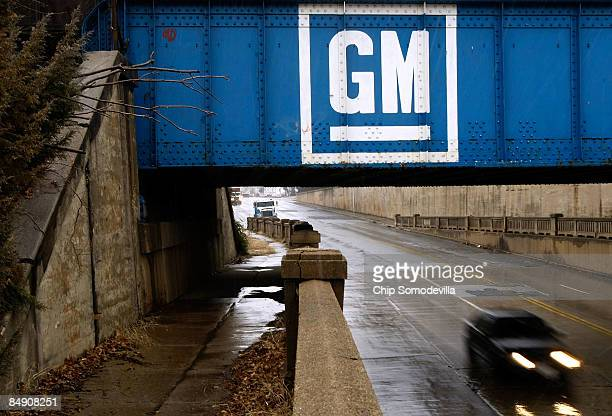 The state of Maryland recently paid $526 million for almost 15 acres of additional car storage space near this bridge painted with a General Motors...