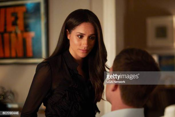 SUITS The Statue Episode 702 Pictured Meghan Markle as Rachel Zane