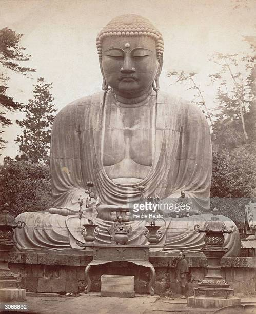 The statue of Buddha at Yokohama.