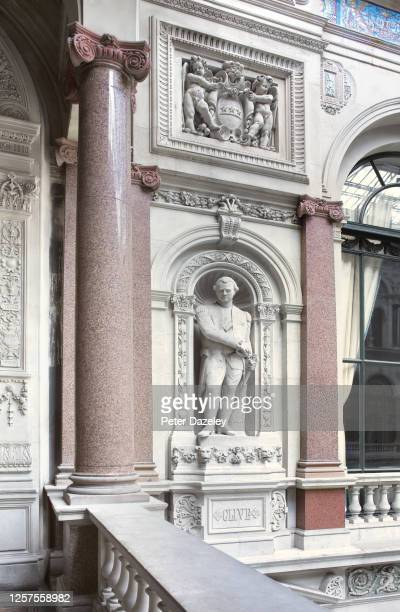 The Statue of Clive of India inside the Foreign and Commonwealth Office on July 132013 in LondonEngland