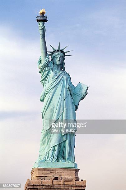 The Statue of Liberty designed by Auguste Bartholdi Liberty Island New York United States of America 19th century