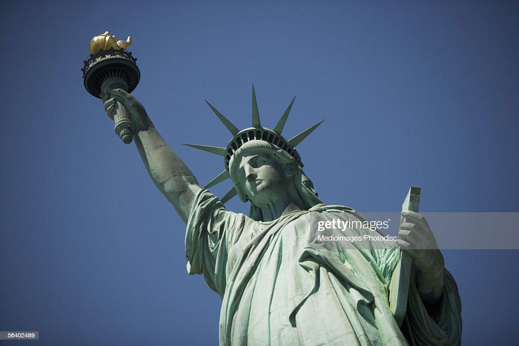 The Statue of Liberty, Liberty Island, New York City, NY, USA : Stock Photo