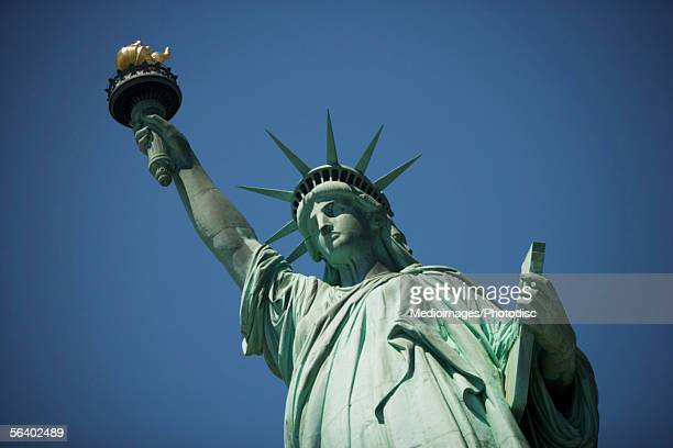 The Statue of Liberty, Liberty Island, New York City, NY, USA