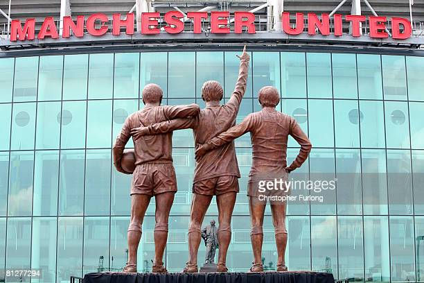 Image result for manchester united trinity statue