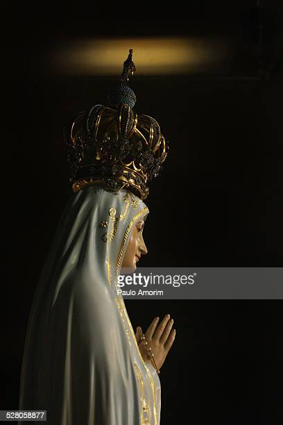 The statue of Our Lady of Fatima in Portugal