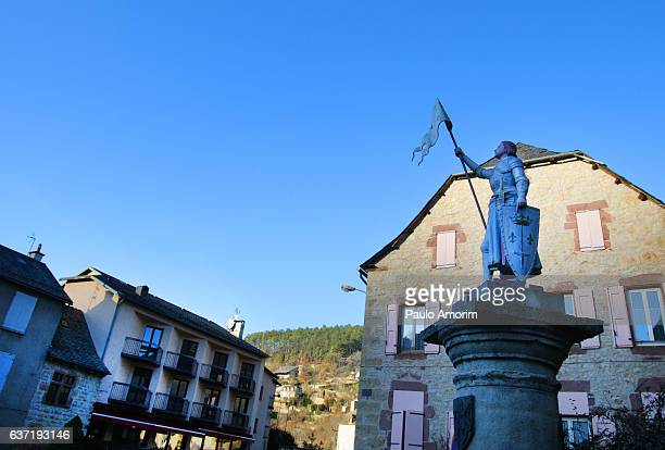 The statue of the Jeanne d'Arc in France
