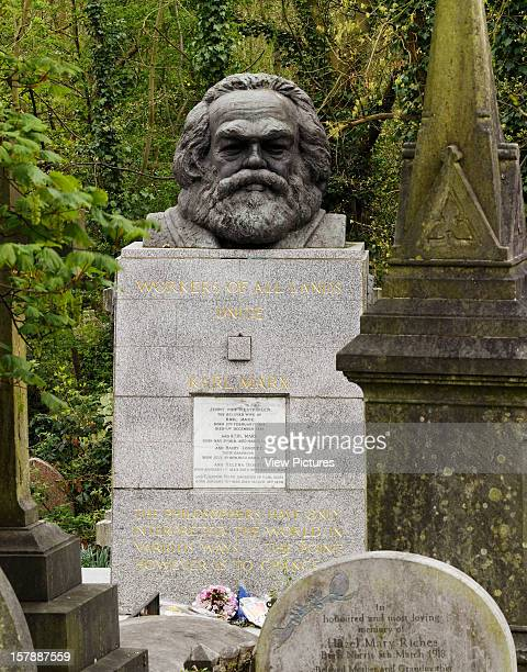 The Statues Of London,United Kingdom, Architect London, The Statues Of London Book Karl Marx By Laurence Bradshaw Material Bronze Unveiled 1956...
