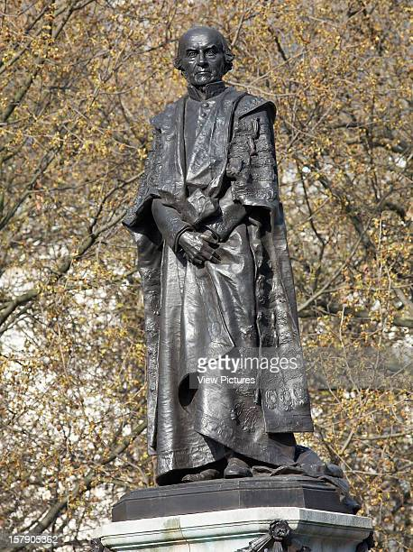 The Statues Of London,United Kingdom, Architect London, The Statues Of London Book William Ewart Gladstone By Sir Hamo Thornycroft Material Bronze...