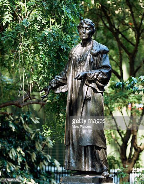 The Statues Of LondonUnited Kingdom Architect London The Statues Of London Book Emmeline Pankhurst By Arthur Walker Material Bronze Unveiled 1930...