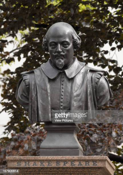 The Statues Of LondonUnited Kingdom Architect London The Statues Of London Book William Shakespeare Material Bronze Bust Location The Former...