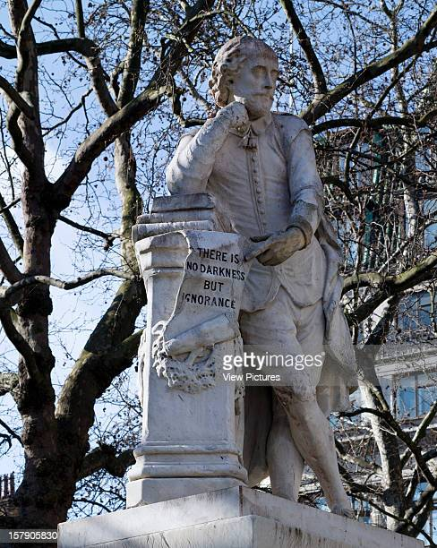 The Statues Of LondonUnited Kingdom Architect London The Statues Of London Book William Shakespeare By Giovanni Fontana Material Marble Unveiled 1874...