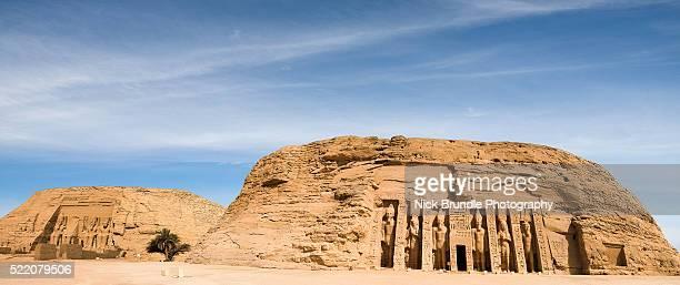 The statues of Rameses II, Abu Simbel, Egypt
