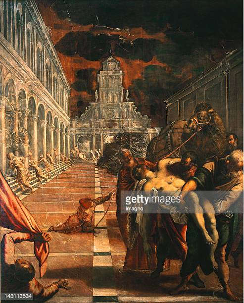 The stealing of the body of Saint Mark 15621566 Canvas 398 x 315 cm Cat831 Galleria dell'Accademia Venice Italy