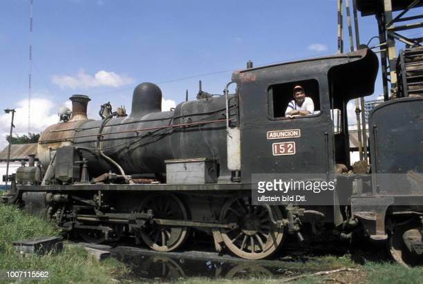 RAILWAYS PARAGUAY The steam locomotive Asuncion More pictures on this subject available on request CDREF00080
