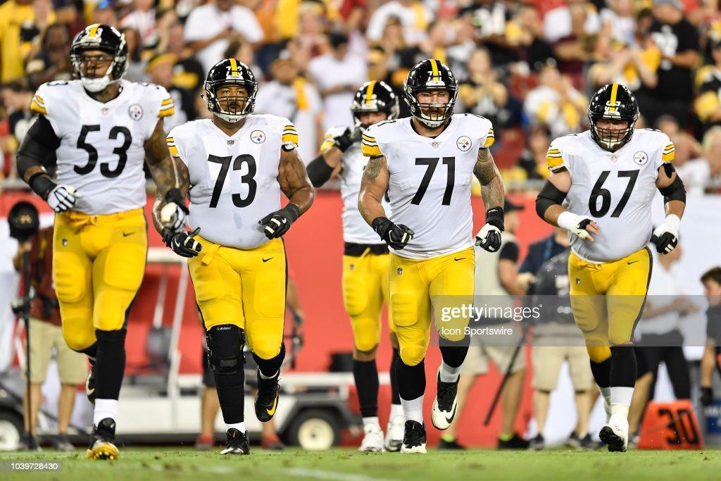 NFL: SEP 24 Steelers at Buccaneers : News Photo