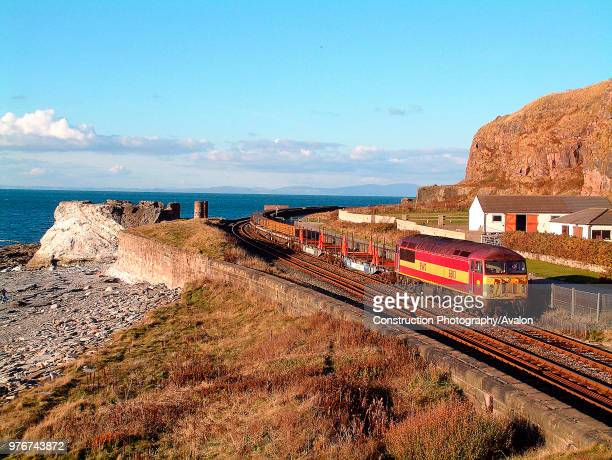 The steelworks at Workington is a principal supplier of rails to the railway industry with regular trains operating along the Cumbrian Coast such as...