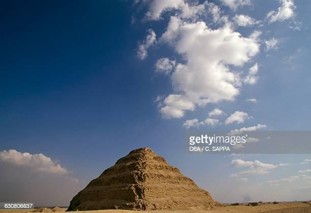The Step Pyramid of Djoser Saqqara Memphis Egyptian civilisation Old Kingdom Dynasty III