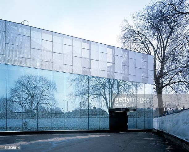 The Stephen Lawrence Centre London United Kingdom Architect Adjaye Associates The Stephen Lawrence Centre Exterior ViewFront Elevation