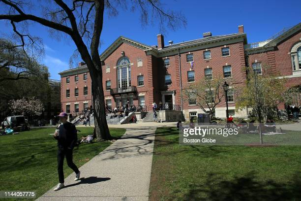 The Stephen Robert '62 Campus Center at Brown University in Providence, RI is pictured on April 25, 2019.
