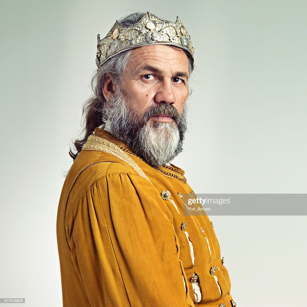 The stern face of ruling : Stock Photo