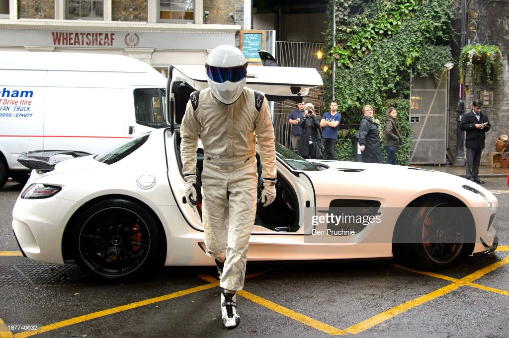 The Stig Promotes New Top Gear Books