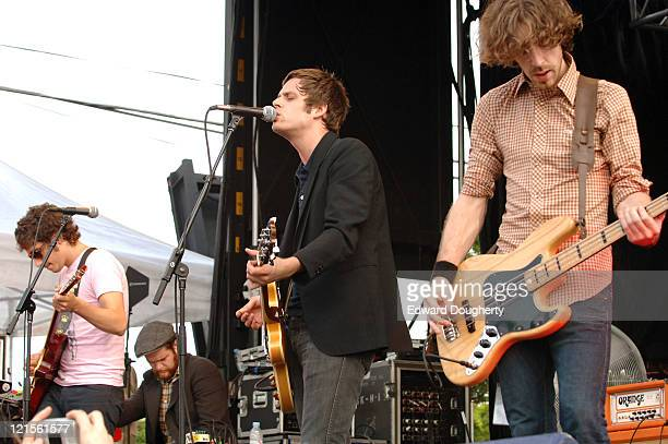 The Stills during 6th Annual Village Voice Siren Music Festival at Coney Island in Brooklyn, New York, United States.