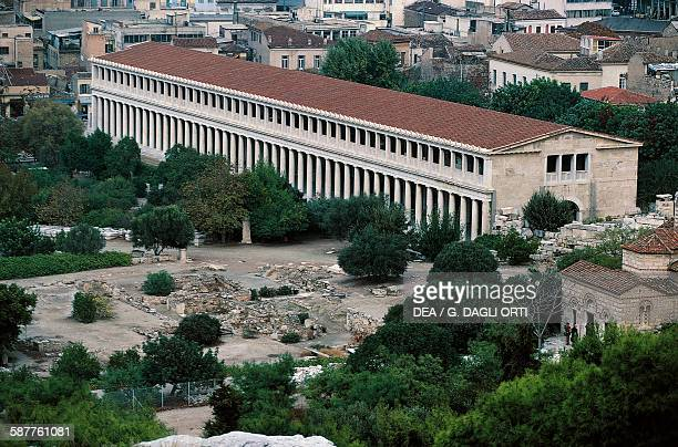 The Stoa of Attalos Athens Greece Greek civilisation 2nd century BC