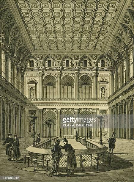 The Stock Exchange in Vienna Austria 19th Century