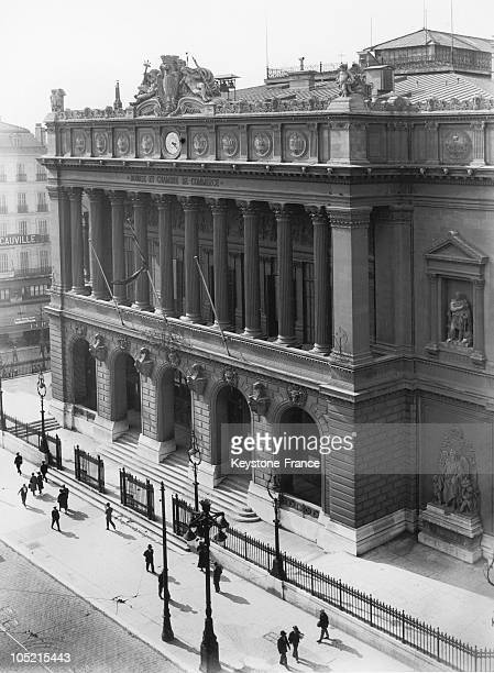 The Stock Market And The Chamber Of Commerce In Marseille About 1930
