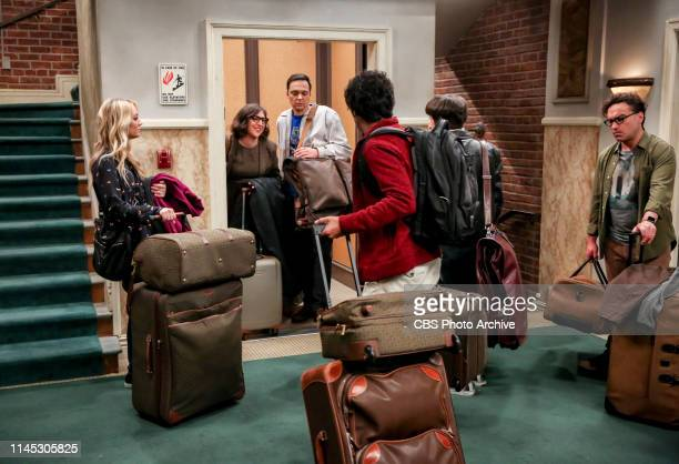 The Stockholm Syndrome Pictured Penny Amy Farrah Fowler Sheldon Cooper Rajesh Koothrappali Howard Wolowitz and Leonard Hofstadter Bernadette and...