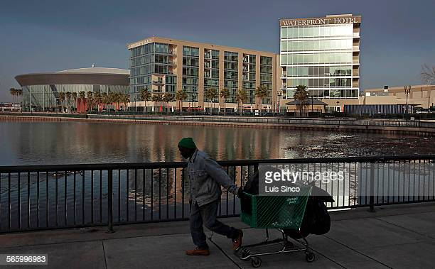 The Stockton Arena, left, and the University Plaza Waterfront Hotel were part of a multimillion dollar revitalization of downtown Stockton that has...
