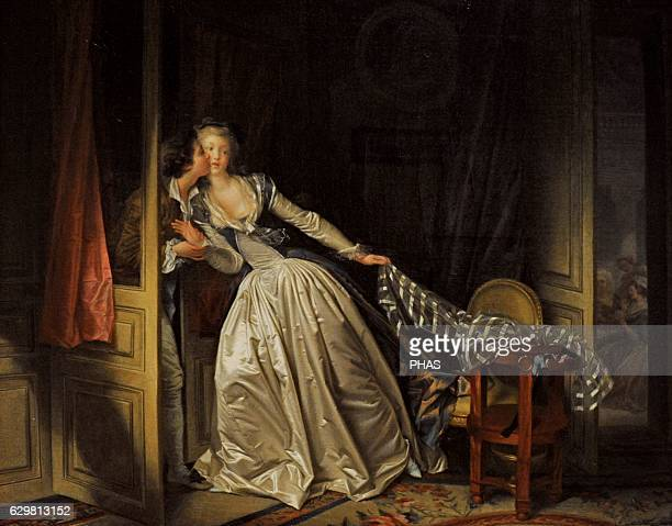 The Stolen Kiss late 1780s by Jean Honore Fragonard