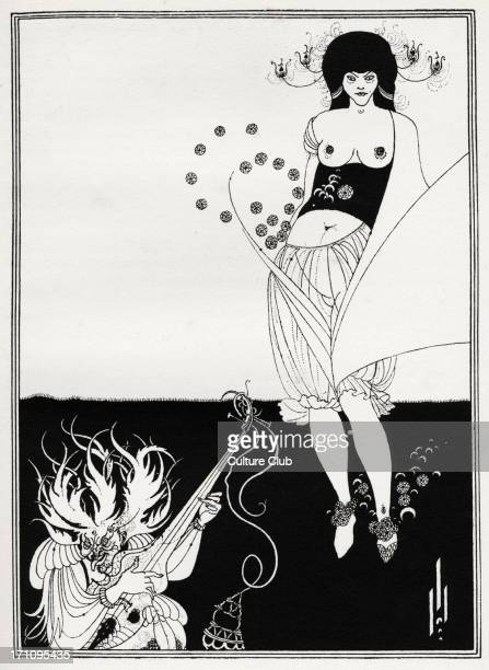 ' The Stomach Dance ' Aubrey Beardsley 's illustration for ' Salome ' by Oscar Wilde first performed in England on 10 May 1905 Richard Strauss 's...