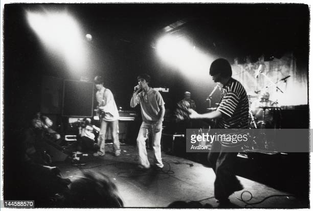 The Stone Roses performing live at the ICA in London in July 1989 24203