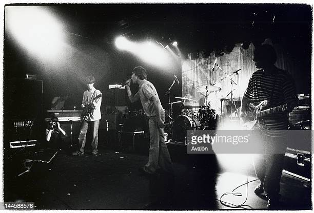 The Stone Roses performing live at the ICA in London in July 1989. 24203 -