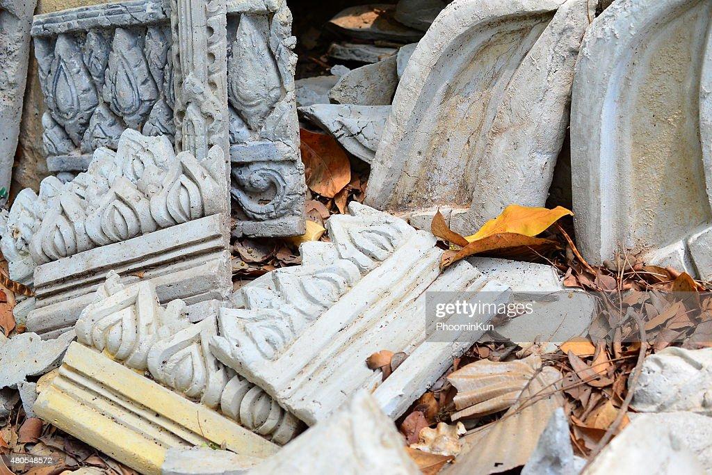 Escultura de Pedra : Foto de stock