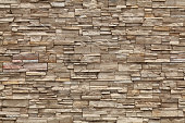 The stone wall would be great for the outside of a house