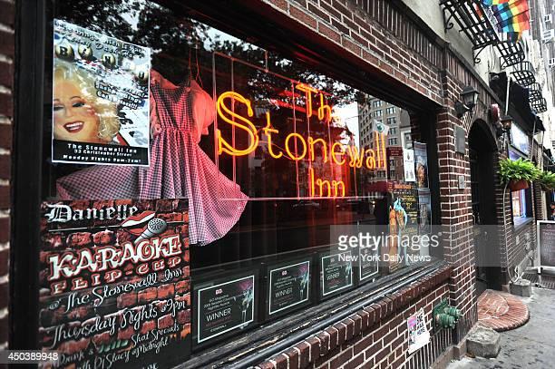 The Stonewall Inn bar, Christopher St. Near 7th Ave.