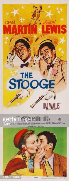The Stooge poster US poster art top from left Dean Martin Jerry Lewis bottom from left Marion Marshall Jerry Lewis 1952