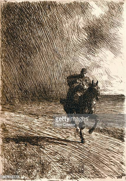 'The Storm' 1891 From The Studio Volume 26 [London Offices of the Studio London 1902]