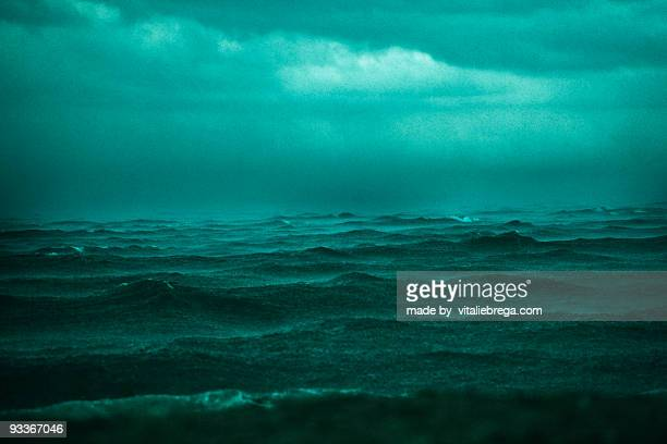 The storm in the Black Sea.